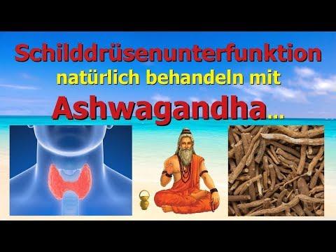 Schilddrüsenunterfunktion natürlich behandeln mit Ashwagandha