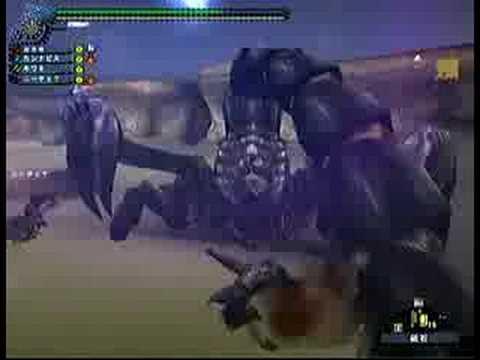 モンスターハンター フロンティア オンライン アクラ・ヴァシムの尻尾を斬る