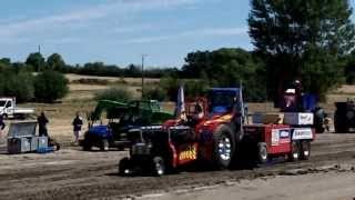 Tractor pulling Ouragan 3 8000Hp 2013 st matré