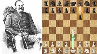 Paul Morphy falls Victim to 1...f6! - Who is Mr. Barnes?
