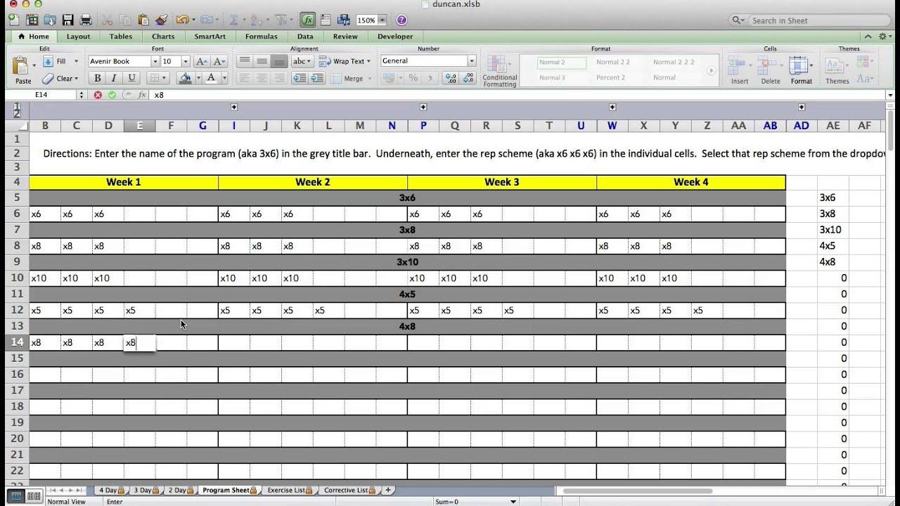 training plan template microsoft