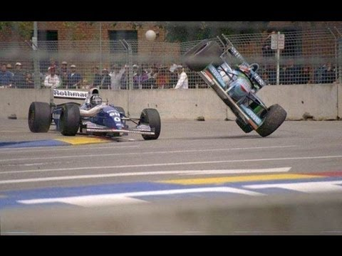 F1 - Michael Schumacher and Damon Hill, Adelaide 1994