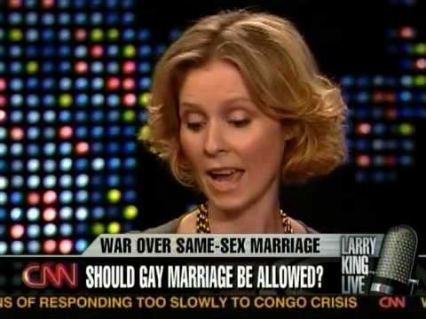 Cynthia Nixon on Larry King Live on Prop 8