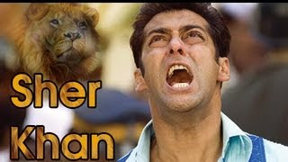 Sher Khan - Salman Khan  To Play A Larger Than Life Frustrated Common Man In Sher Khan ! [HD]