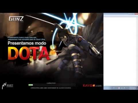 COMO DESCARGAR E INSTALAR EL GUNZ ULTRA DE KAYBO SÓL0O PARA WINDOWS XP,VISTA