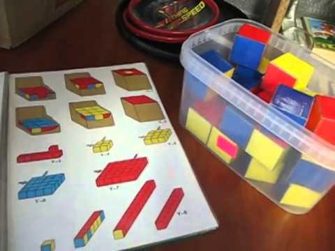 Календарь кубиками своими руками