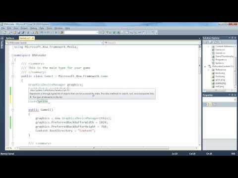 3. díl -- Vykreslování více herních objektů (Programování her v XNA)