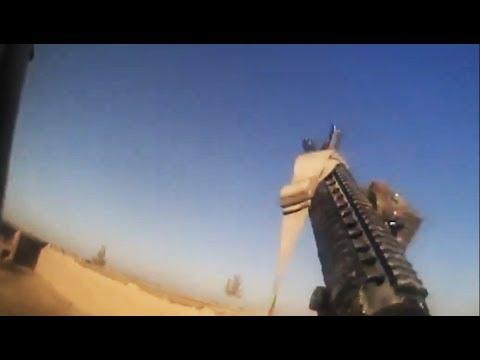 U.S. Marines Firefight With Taliban - Full Length