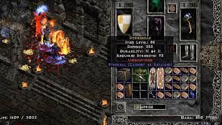 Diablo 2 - Ethereal Andariel's Visage Drop - Holy Grail (Single Player / Plugy)
