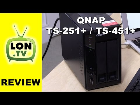 QNAP TS-251+ / TS-451+ NAS Review - Plex. Video. running Windows and HDMI! (virtually)