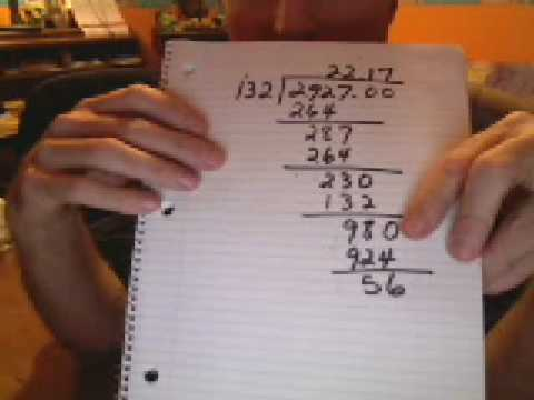 How to do long division (the easy way) - YouTube