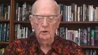2007:Sir Arthur C Clarke comments upon 50 years of Space Age