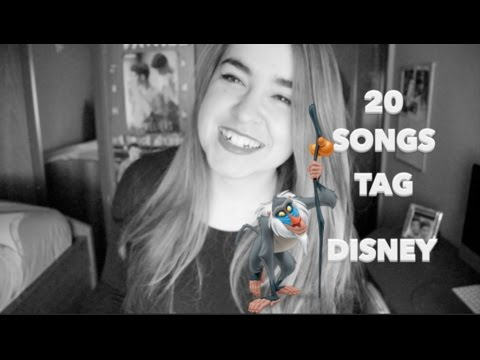 20 songs tag disney | NeiVlogs #1