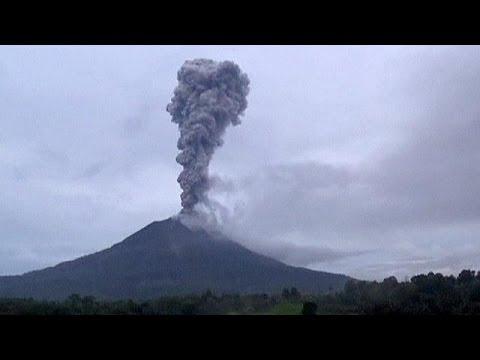 Fotos Vulcao Indonesia Indonésia Vulcão Sinabung