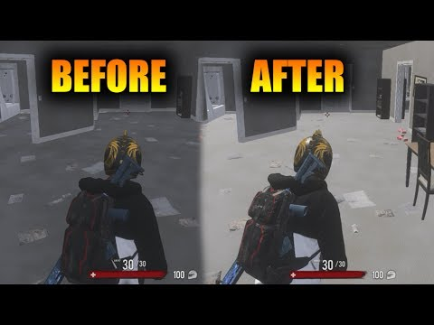 HOW TO TURN OFF SHADOWS in H1Z1! New H1Z1 Lighting Update! (H1Z1 Hotfix Notes)
