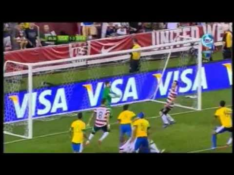Oguchi Onyewu Header USA vs Brazil 1-3 All Goals and Full Match Highlights 30/5/2012