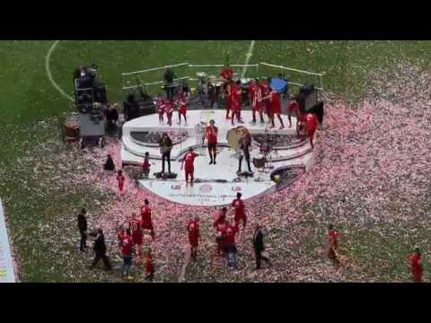 Imagine Dragons - On Top Of The World - FC Bayern Meisterfeier 2015 - Allianz Arena