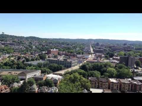 The Tourist View: Pittsburgh City Aerial View