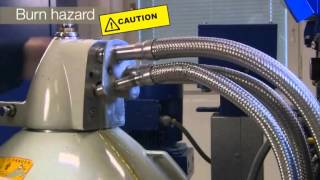 Alfa Laval service video for S and P separators