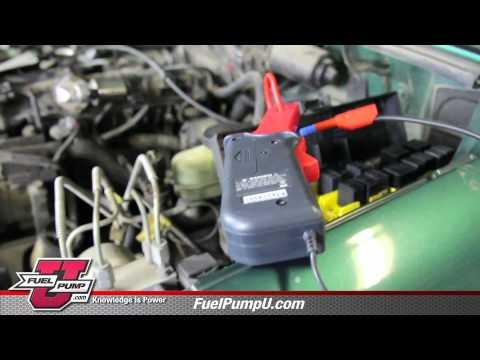 Case Study - Diagnosing an In-Tank Fuel Pressure Regulator Issue