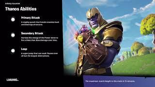 Fortnite Thanos Gamemode