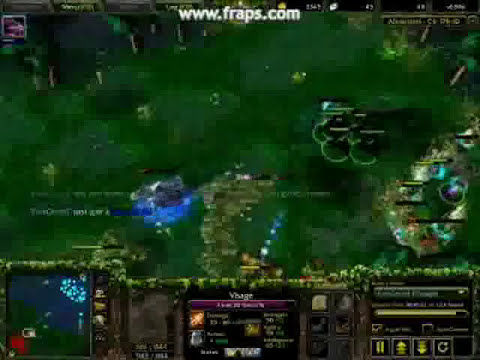 DotA Pro Combo!! Escape!! and Ks!!