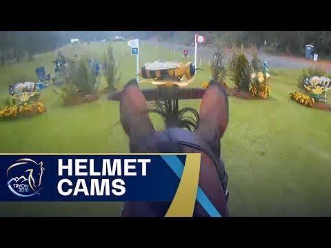 Amazing Equestrian POV Footage with Helmet Cameras | FEI World Equestrian Games 2018