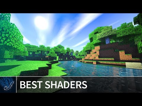 Minecraft PE 1.4: TOP 5 BEST SHADERS 2018 for iOS & Android - Shaders Texture Pack MCPE 1.4.2 / 1.4