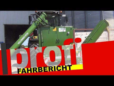 Angebaute Mais- und Getreidemühle Willemsen FF7/5 ZW