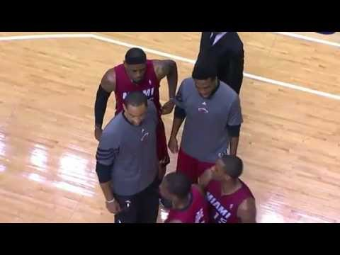 Dwyane Wade gets mad at Erik Spoelstra