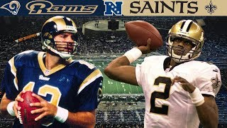 A High-Octane Superdome Comeback! (Rams vs. Saints, 2000 NFC Wild Card)
