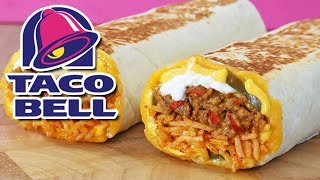 Taco Bell 🔥 Cheddar Jalapeño Quesarito 🔥 Review