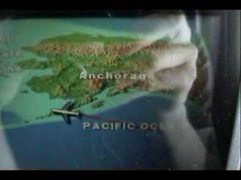 Flying over the Alaskan Peninsula Video