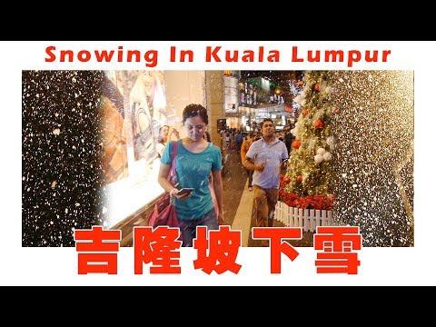 Snowing In Kuala Lumpur Malaysia