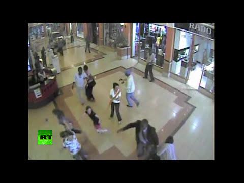 Pánico durante el ataque terrorista en el centro comercial de Kenia