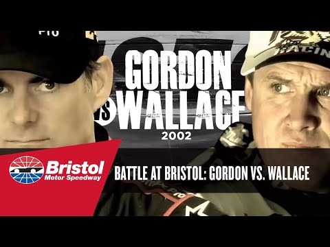 Bristol Battle: Jeff Gordon vs. Rusty Wallace