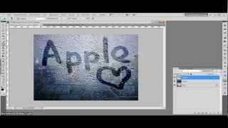 Как сделать надпись на фотошопе cs5