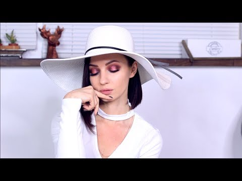 РОМАНТИЧЕСКИЙ МАКИЯЖ НА 14 ФЕВРАЛЯ/МАКИЯЖ на ДЕНЬ ВАЛЕНТИНА / WARM HALO Eye Makeup tutorial