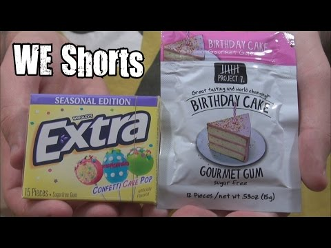 Project 7 Birthday Cake Gum Birthday Cake Gourmet Gum