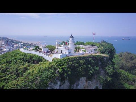 〔DJI空拍 - 城市日光系列〕 日出映像:旗津海洋