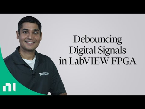 Debouncing Digital Signals in LabVIEW FPGA