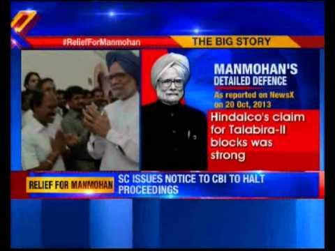 Coal scam: SC stays summon against ex-PM Manmohan Singh, issues notice to CBI