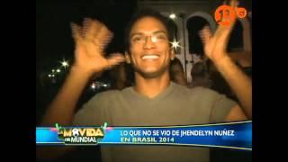 ¡Las imágenes prohibidas de Jhendelyn Núñez en Brasil!