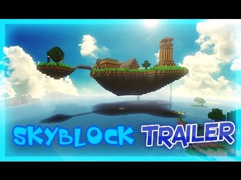 Minecraft Skyblock Server 1.7.10 Trailer