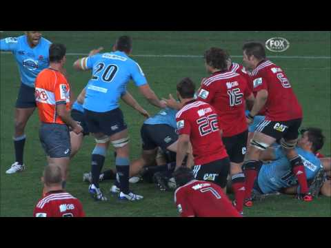 Waratahs v Crusaders 2014 Super Rugby Grand Final | Super Rugby Video