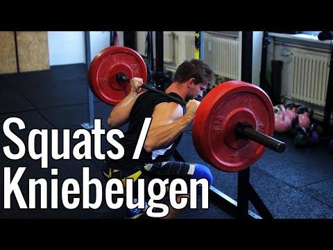 Kniebeugen (Squats) | Richtige Ausführung & Technik Mit Der Langhantel!