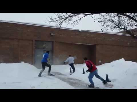 Northdale middle schools snowshoe ,Olympics 2014