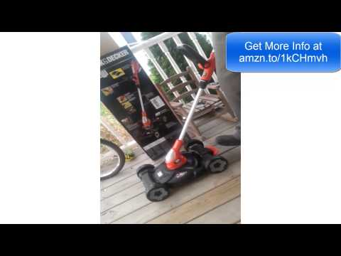 Assemble and Operate The Black & Decker 12-Inch 3-in-1 Trimmer/Edger and Mower Review