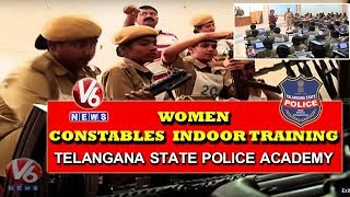 Women Constables Indoor Training At Telangana State Police Academy | Ground Report