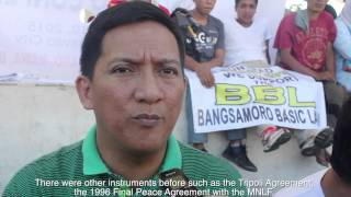 Peace Rally for Bangsamoro Basic Law [105.9 BALITA FM]